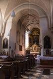 Kreuzkirche em Munich, Alemanha, 2015 foto de stock