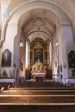 Kreuzkirche em Munich, Alemanha, 2015 fotos de stock royalty free