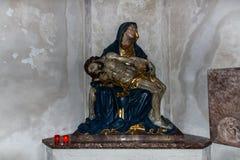 Kreuzkirche em Munich, Alemanha, 2015 imagens de stock royalty free