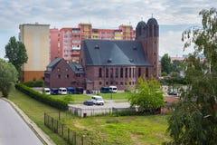 Kreuzkirche kyrka Ryssland Arkivbild