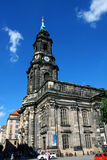 Kreuzkirche meaning Church of the Holy Cross in Dresden Germany Stock Photography