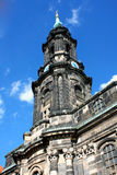 Kreuzkirche meaning Church of the Holy Cross in Dresden Germany Royalty Free Stock Image