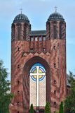 Kreuzkirche - Orthodox Church in Kaliningrad (until  1946 Koenig Royalty Free Stock Photo