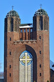 Kreuzkirche - Orthodox Church in Kaliningrad (until  1946 Koenig Royalty Free Stock Photos