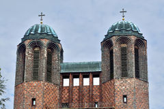 Kreuzkirche - Orthodox Church in Kaliningrad (until  1946 Konigs Stock Photos