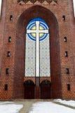 Kreuzkirche - ortodox kyrka i Kaliningrad, Ryssland royaltyfria bilder