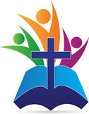 Kreuzleute der heiligen Bibel lizenzfreie abbildung