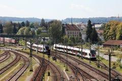 kreuzlinge stacja kolejowa zdjęcie stock