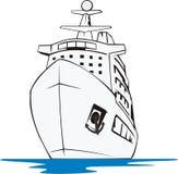 Kreuzschiff lizenzfreie abbildung