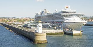 Kreuzschiff in Bilbao Stockfoto