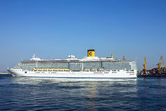 Kreuzschiff Costa Deliziosa Stockbilder