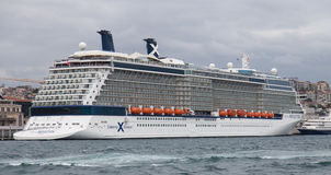 Kreuzschiff-Costa Luminosa Stockbild