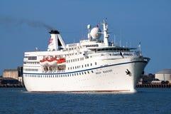Kreuzschiff Mitgliedstaat Ocean Majesty stockfotografie