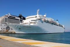 Kreuzschiff Mitgliedstaat Thomson Dream Stockfoto