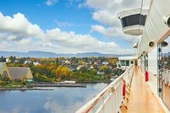 Kreuzschiff, Norwegen Lizenzfreie Stockfotografie
