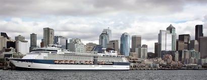 Kreuzschiff in Seattle Lizenzfreies Stockbild