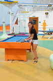 Kreuzschiff-Spaß lizenzfreie stockfotografie