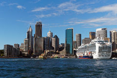 Kreuzschiff, Sydney Harbour, Australien Stockbilder