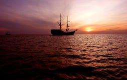 Kreuzschiffe Stockfoto