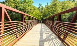 Kreuzung der Brücke Lizenzfreies Stockbild