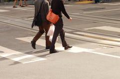 Kreuzung der Straße Lizenzfreies Stockfoto