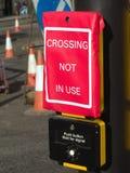 Kreuzung nicht verwendet lizenzfreie stockbilder