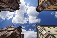Kreuzungen in Koblenz Stockbilder