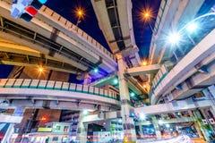 Kreuzungen Tokyos Japan Lizenzfreie Stockfotos