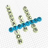 Kreuzworträtsel Lizenzfreies Stockfoto