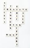 Kreuzworträtsel Stockbilder