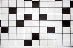 Kreuzworträtsel Lizenzfreies Stockbild