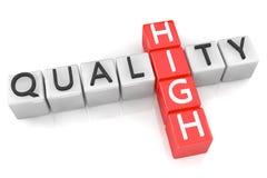 Kreuzworträtsel-hohe Qualität Lizenzfreies Stockbild