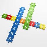 Kreuzworträtselausbildung Lizenzfreie Stockfotografie