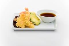 krewetek tempura tygrysa warzywa obrazy royalty free