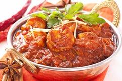 Krewetka curry obrazy stock