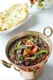 Krewetka Korma: indyjski jedzenie Fotografia Royalty Free
