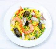 krewetki ryżu Fotografia Royalty Free
