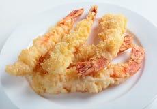 Krewetki tempura Zdjęcia Stock