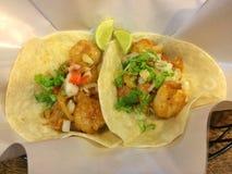 Krewetkowy Tacos Zdjęcie Stock