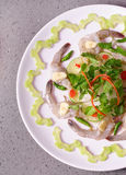 Krewetkowy yummy azjata styl Obrazy Stock