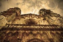 Krga Monastery in Skradin. Picture in artistic retro style Royalty Free Stock Photo