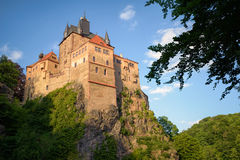 Kriebstein Castle, Germany Royalty Free Stock Photos