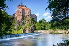 Kriebstein Castle, Germany Stock Images