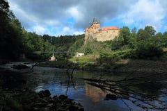 Kriebstein castle Stock Image