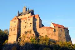 Kriebstein castle Saxony, Germany. Kriebstein castle in late afternoon; Saxony, Germany Stock Photos