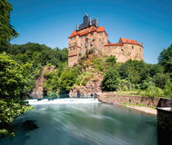 Kriebstein castle in Saxony Royalty Free Stock Photography