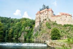 Kriebstein slott Royaltyfria Bilder