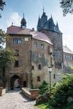 Kriebstein slott Arkivbild