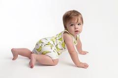 Kriechendes Baby lizenzfreies stockbild