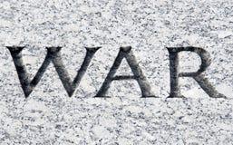 Krieg lizenzfreies stockbild